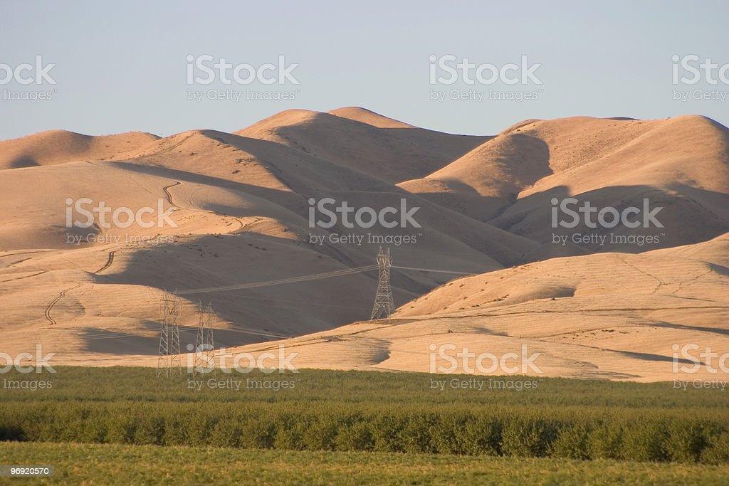 California Farmland #3 royalty-free stock photo
