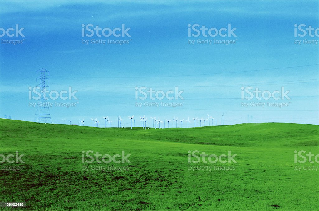 california fields forever royalty-free stock photo