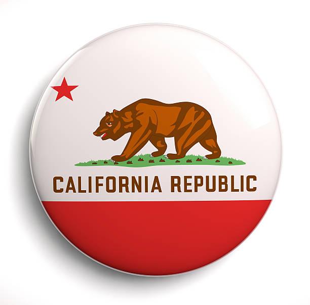 Bandera de California - foto de stock