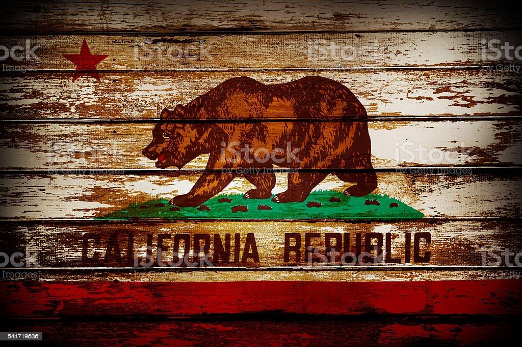 California flag stock photo
