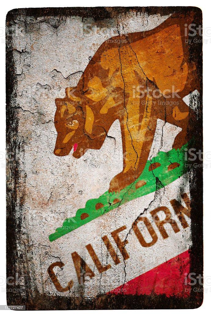 California Flag XXL stock photo