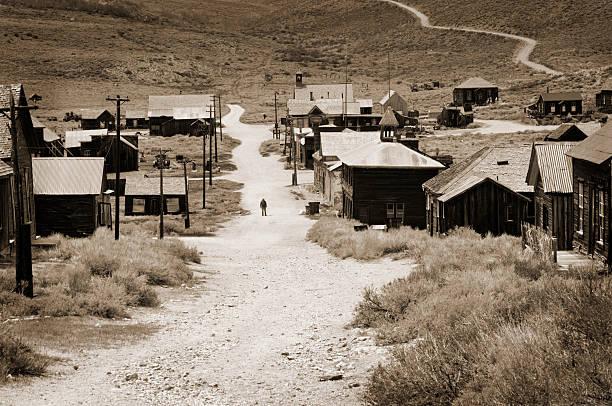 калифорния город-призрак - город призрак стоковые фото и изображения