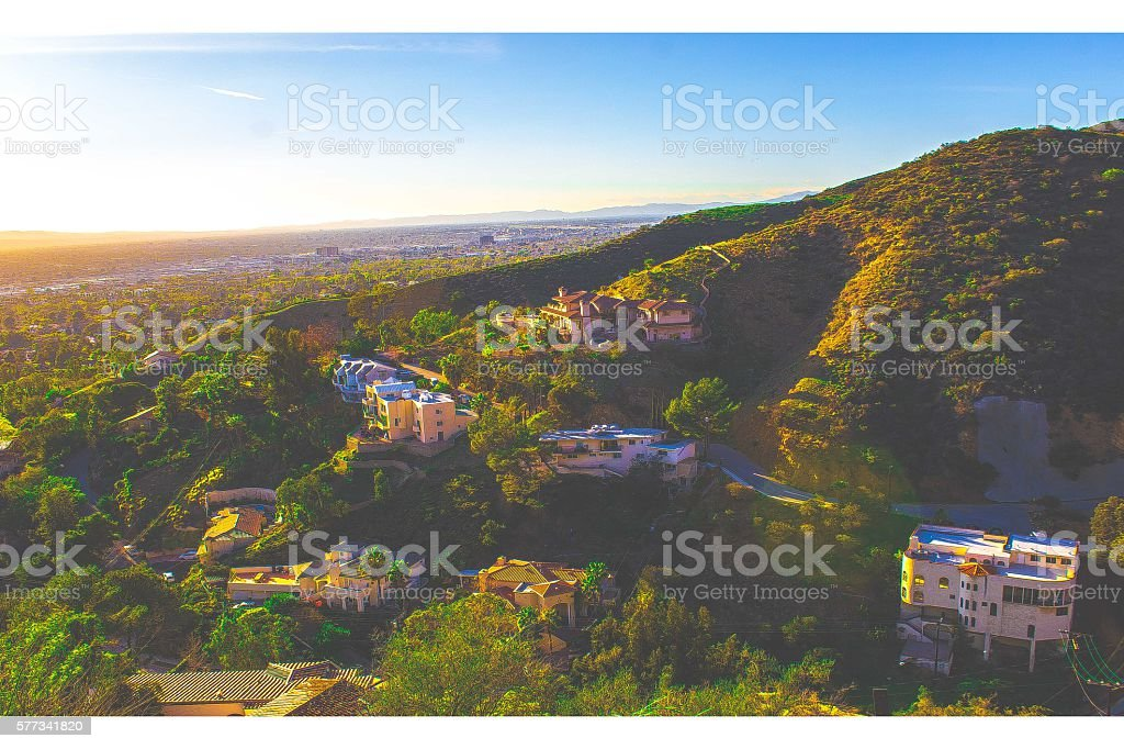 California Horizon stock photo