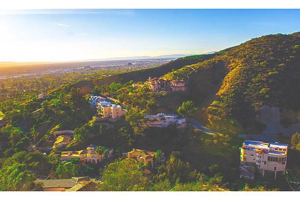 california horizon - san fernando valley stock photos and pictures