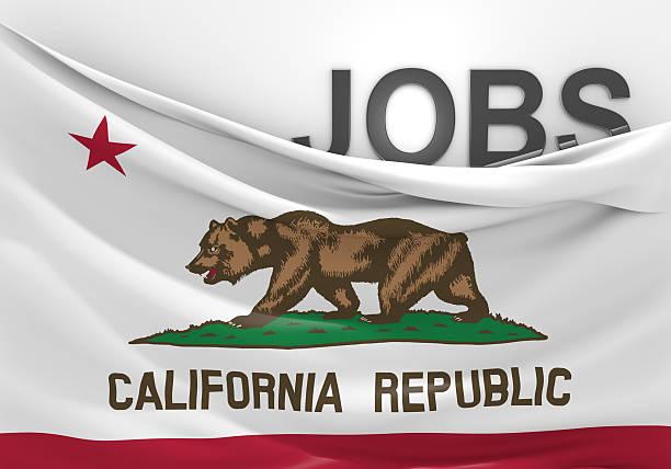 California concepto de puestos de trabajo y oportunidades de empleo - foto de stock