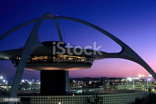 USA California, Los Angeles, Los Angeles International Airport.