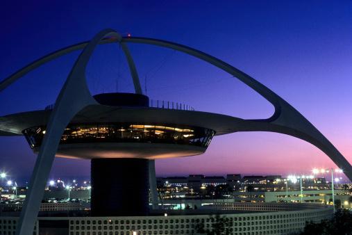 USA California, Los Angeles, Los Angeles International Airport.