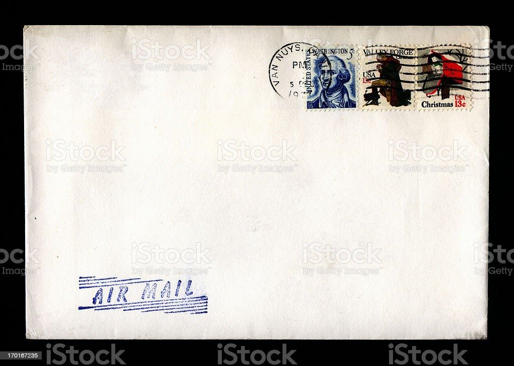 California mail stock photo