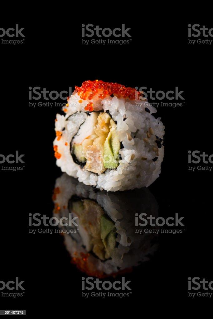 California maki sushi stock photo