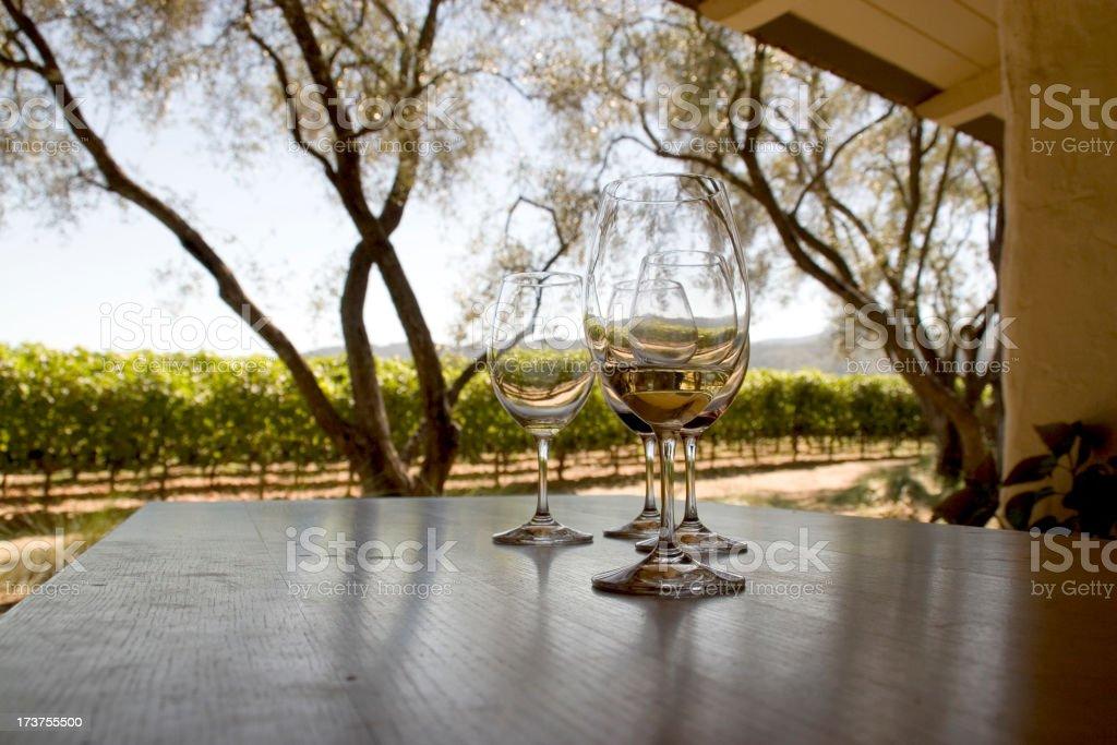 California: Napa Valley Wine Tasting royalty-free stock photo