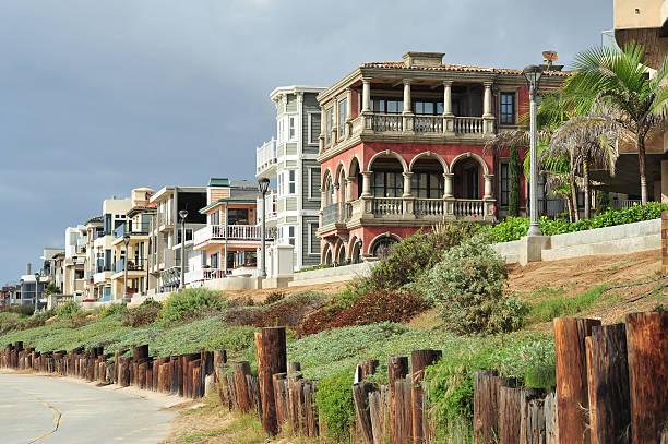 California neighbourhood stock photo