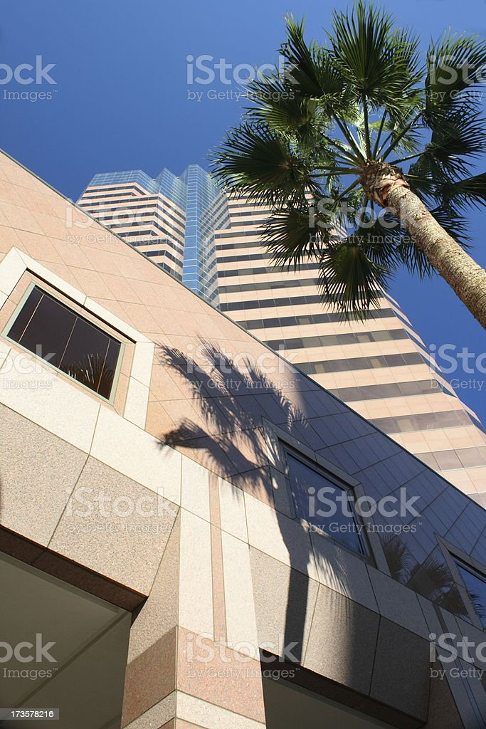 California Office Building at Base royalty-free stock photo