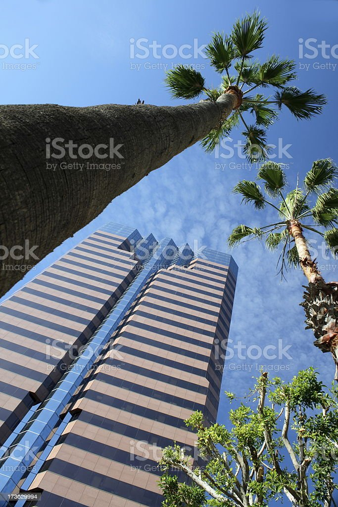 California Office Building royalty-free stock photo
