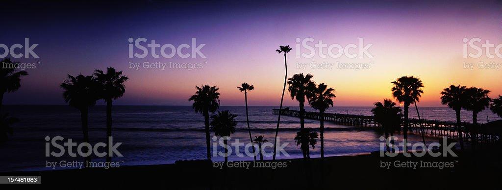 California Panoramic stock photo