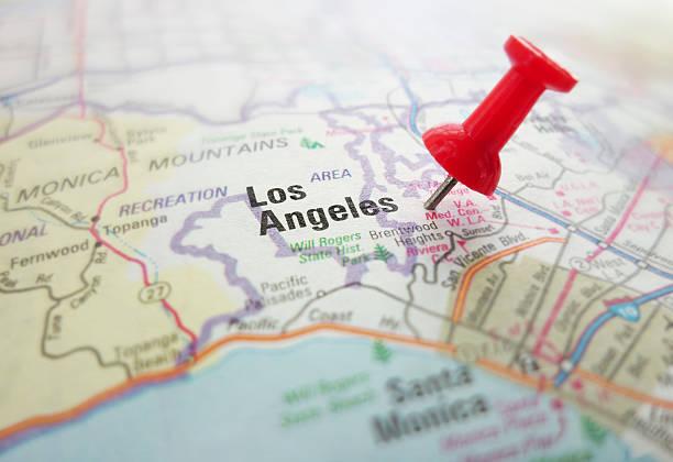 LA California stock photo