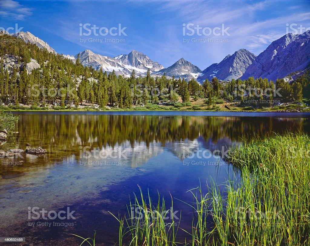 California Sierra Nevada Range stock photo