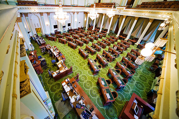 California State Assembly stock photo