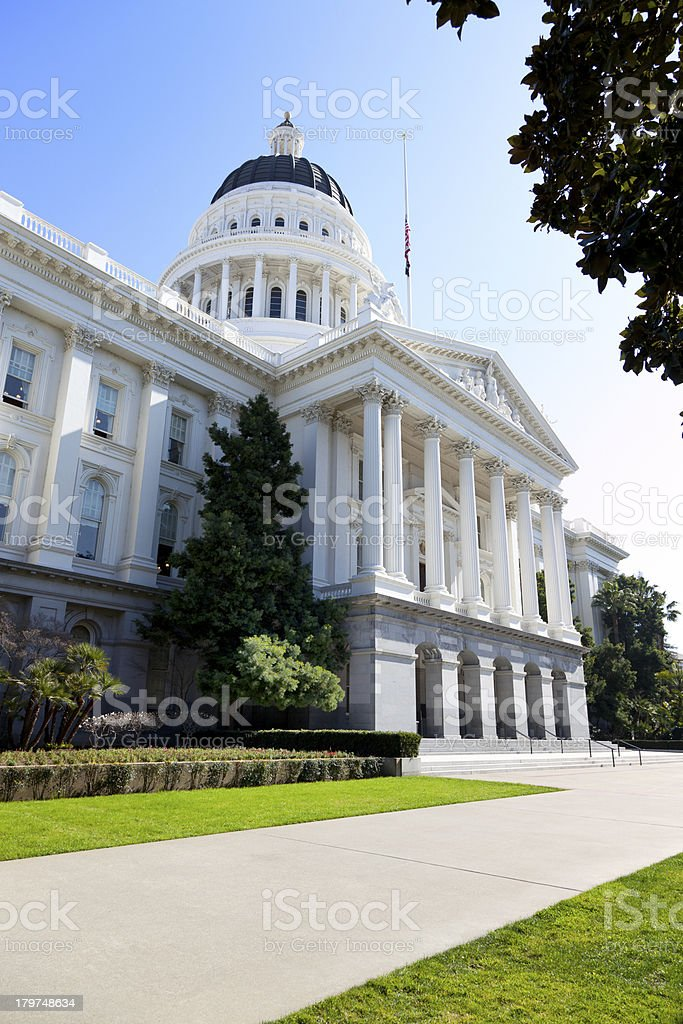 California State Capital Building royalty-free stock photo