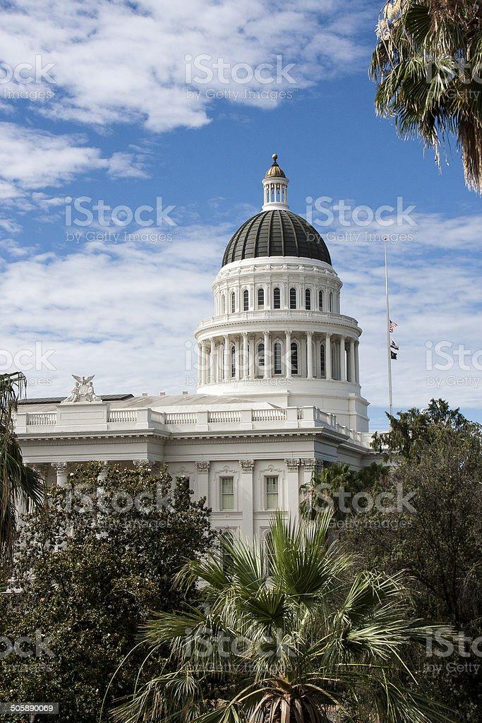 California State Capital Building, Sacramento stock photo