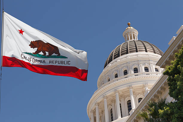 California State Capital Sacramento California outside the capital building state capitol building stock pictures, royalty-free photos & images