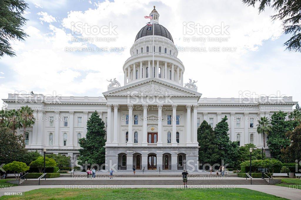 California State Capital stock photo