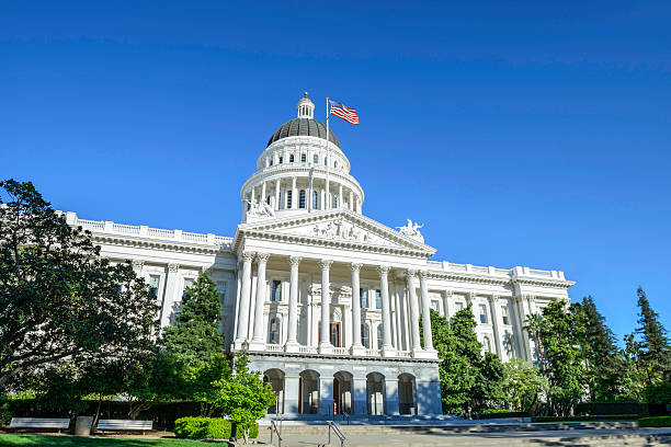 California State Capitol Building in Sacramento, CA, USA California State Capitol Building in Sacramento, CA, USA state capitol building stock pictures, royalty-free photos & images