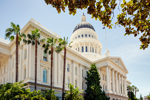 California State Capitol Building Stock Photo - Download Image Now
