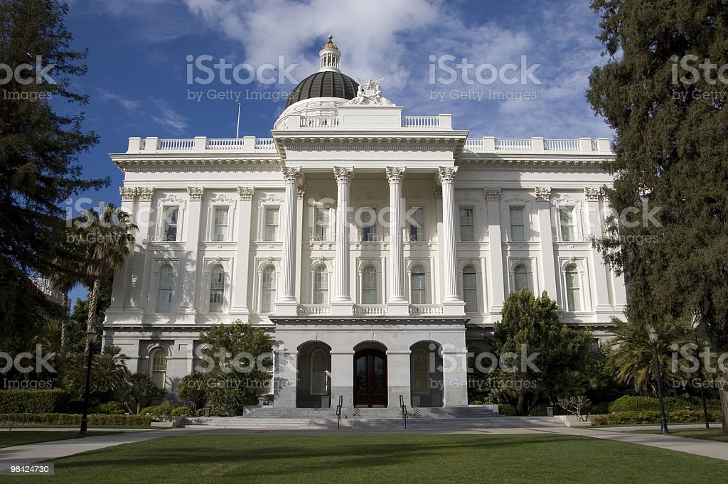 California State Capitol Building royalty-free stock photo