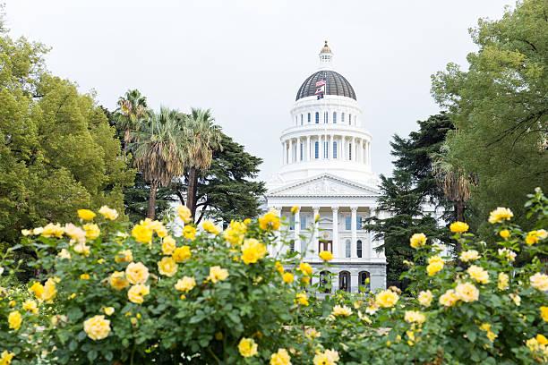 California State Capitol stock photo