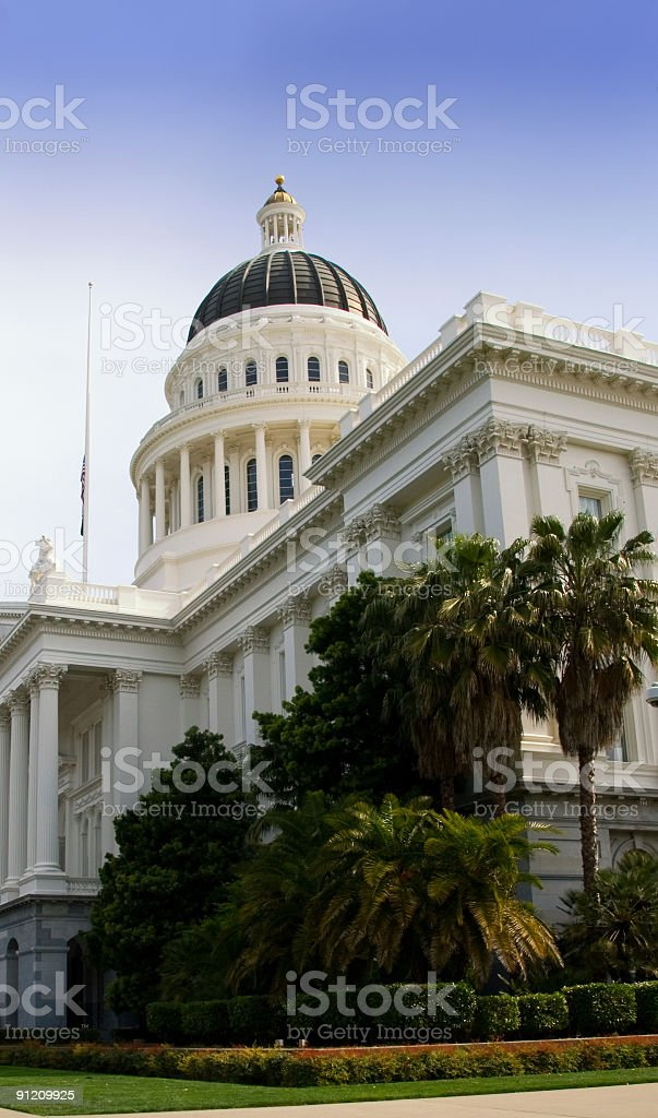 California State Capitol royalty-free stock photo