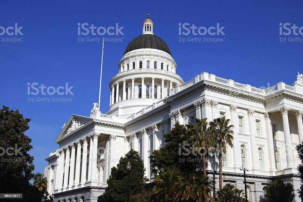 California State Capitol foto stock royalty-free