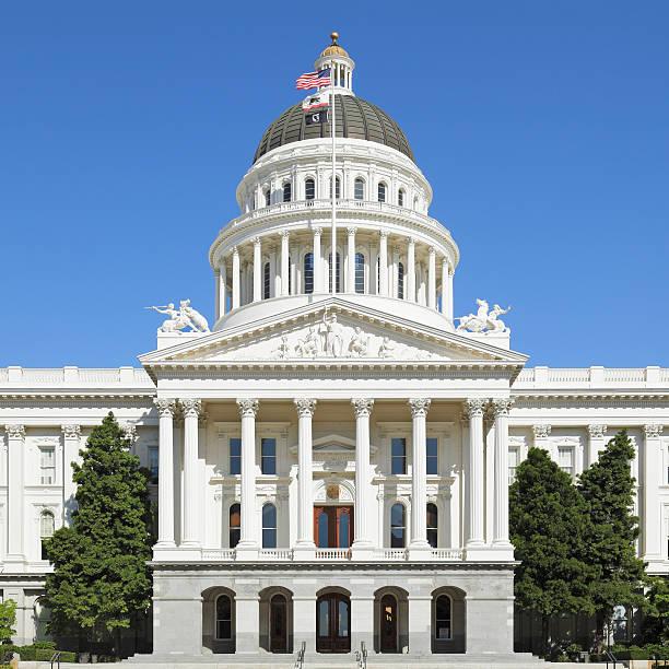 California State Capitol - Sacramento stock photo