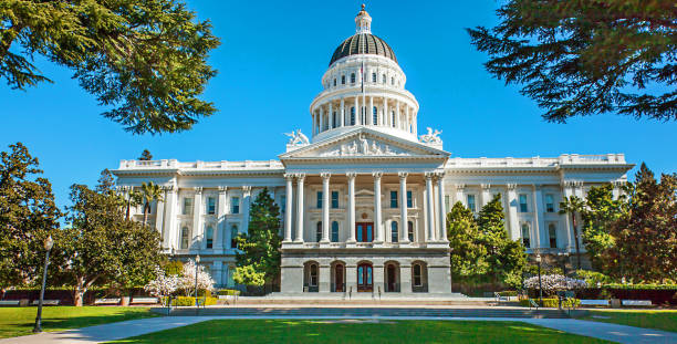 California State Capitol Sacramento USA California State Capitol Sacramento USA local government building stock pictures, royalty-free photos & images