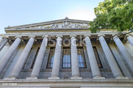 California State Courthouse Building in Sacramento, CA, USA
