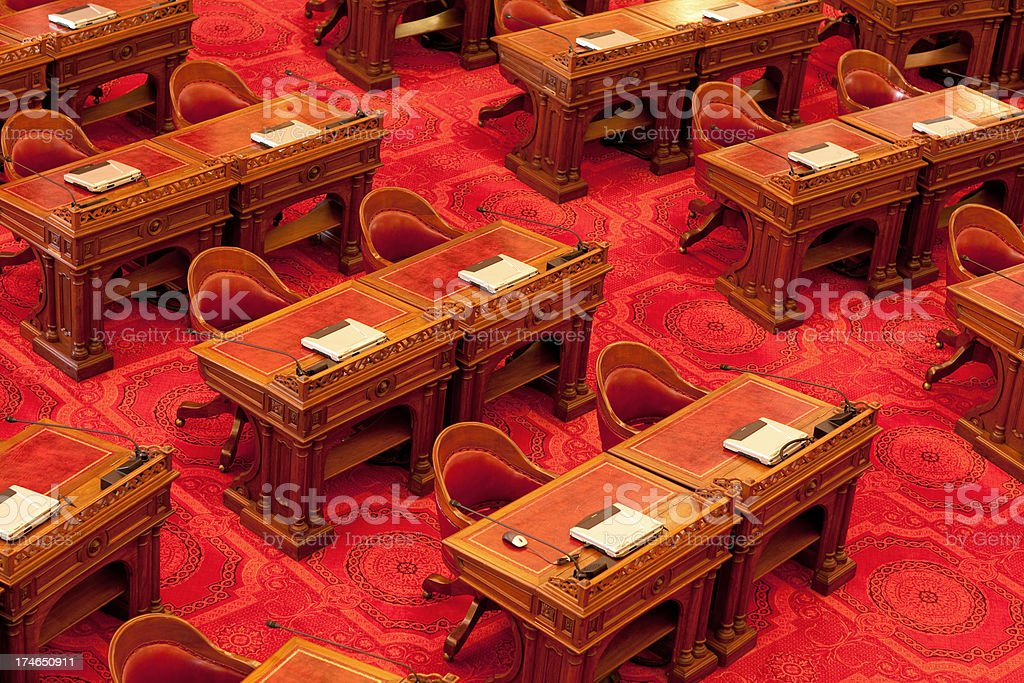 California State Senate stock photo