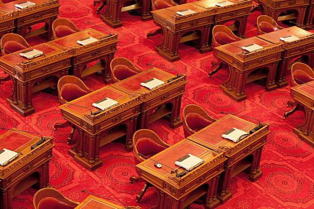 California State Senate stock photo