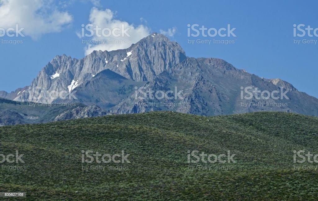 California Stone Pyramid stock photo