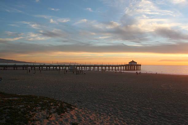 kalifornien sonnenuntergang - süd kalifornien stock-fotos und bilder
