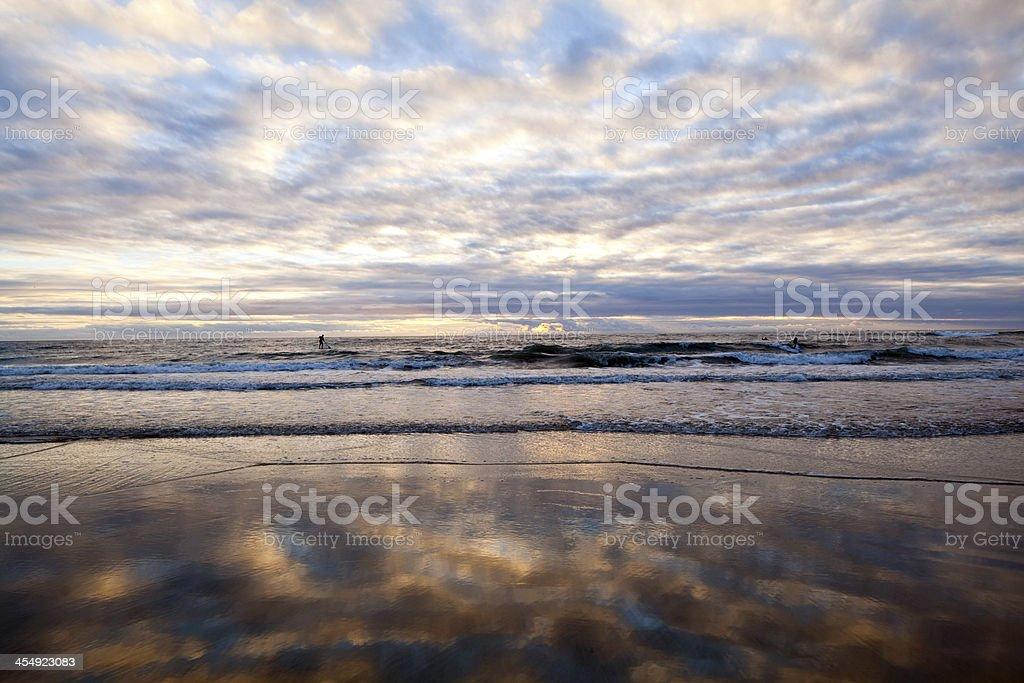 California Sunset royalty-free stock photo