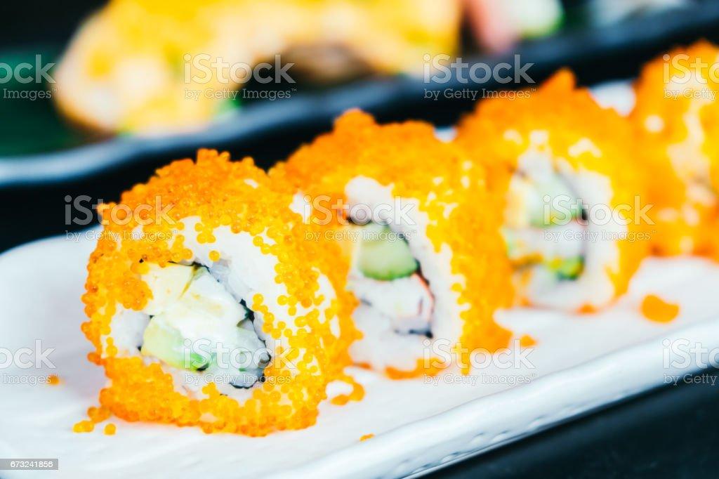 California sushi maki stock photo