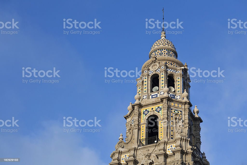 California Tower, Balboa Park, San Diego stock photo