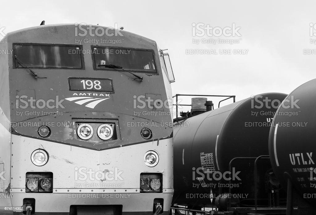 單色加州西風引擎 免版稅 stock photo