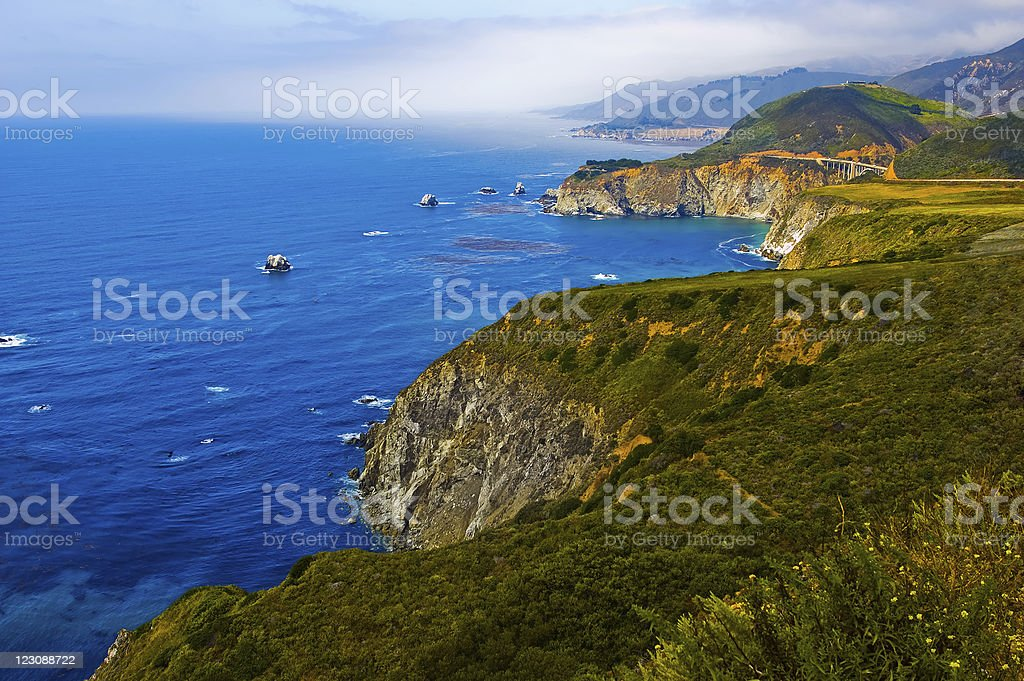 Californian Coast stock photo