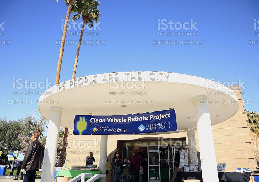 Clean Vehicle Rebate >> Californias Clean Vehicle Rebate Project Stock Photo