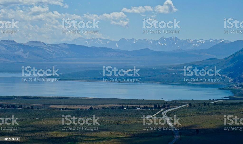 California's Mono Lake stock photo