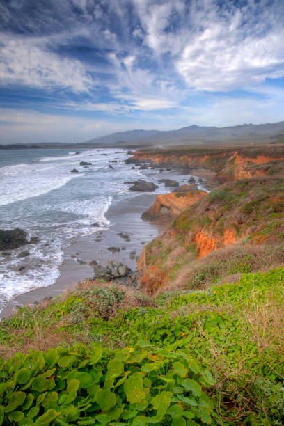 California's Pacific Ocean Coast stock photo