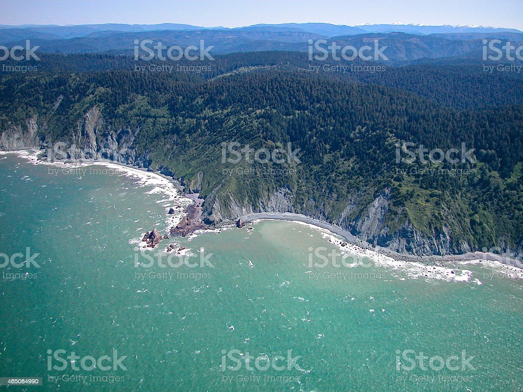 California's Redwood Coast stock photo