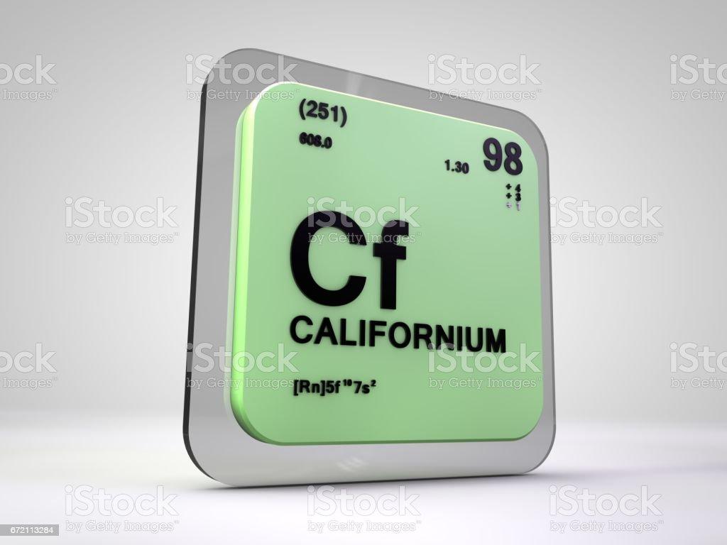 Californium cf chemical element periodic table 3d illustration californium cf chemical element periodic table 3d illustration royalty free stock photo gamestrikefo Images