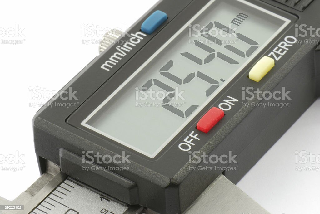 Caliper royalty-free stock photo