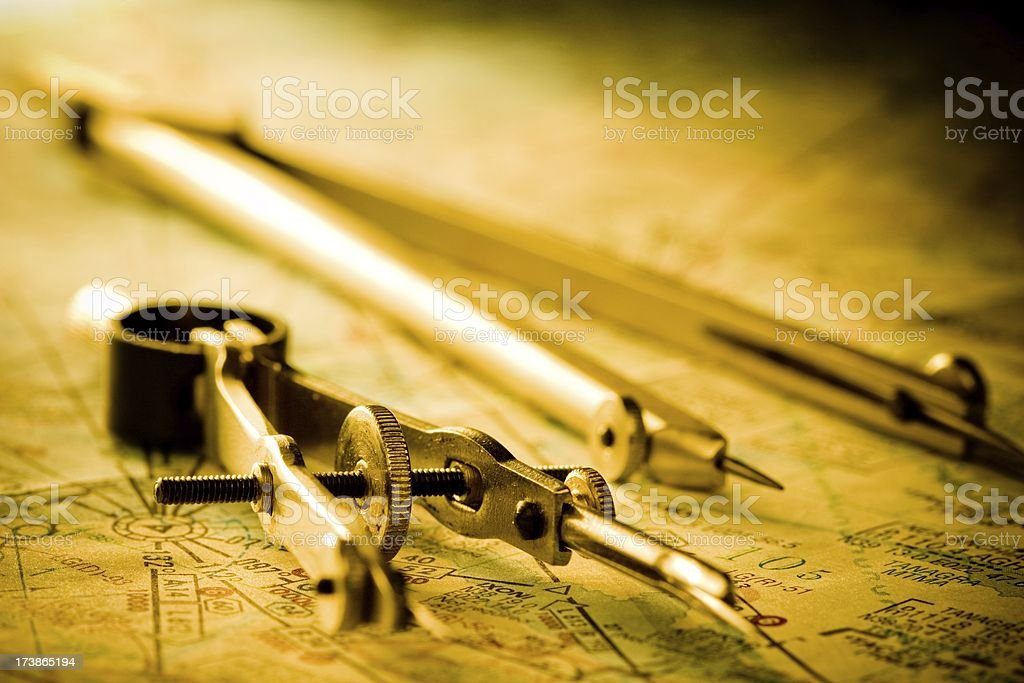 Calipers royalty-free stock photo